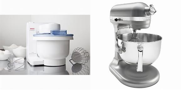 Bosch Compact Mixer Vs KitchenAid Professional