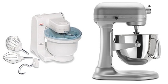 Ordinaire Bosch Compact Mixer Vs KitchenAid Professional