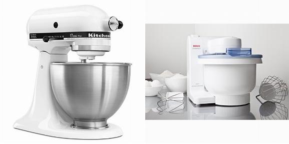 Kitchenaid Classic Plus Vs Bosch Compact Mixer Speczoom