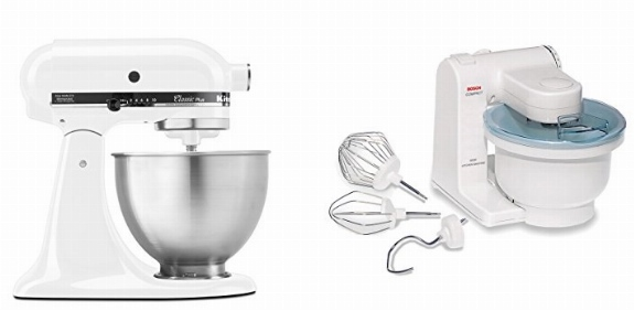 Superbe KitchenAid Classic Plus Vs Bosch Compact Mixer