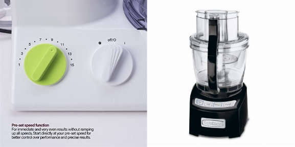 Braun Fp3020 12 Cup Food Processor Vs Cuisinart Fp 14bk